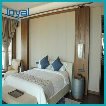 Luxury French Wooden Hotel Furniture Bedroom Furniture Set