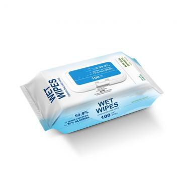 75% alcohol antibacterial wet wipes