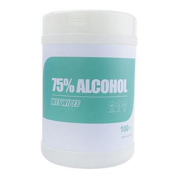 100ct 70% Alcohol Wipes in Canister